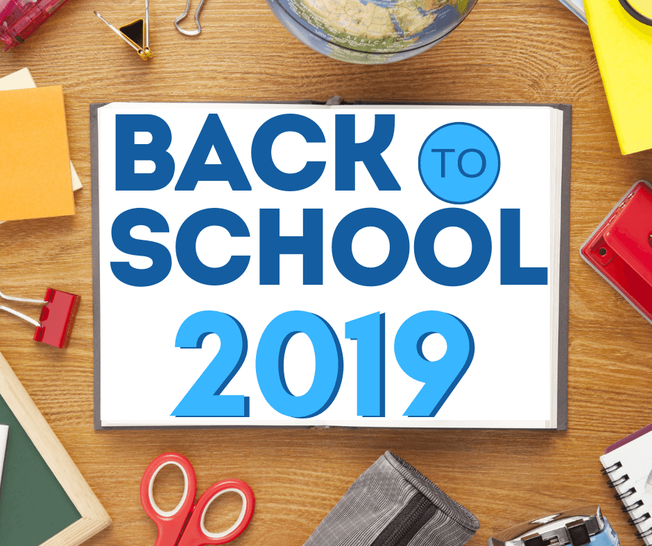 back to school 2019