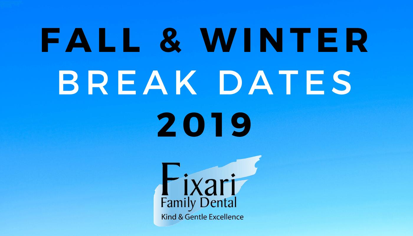 Fall & Winter Break Dates 2019 Columbus