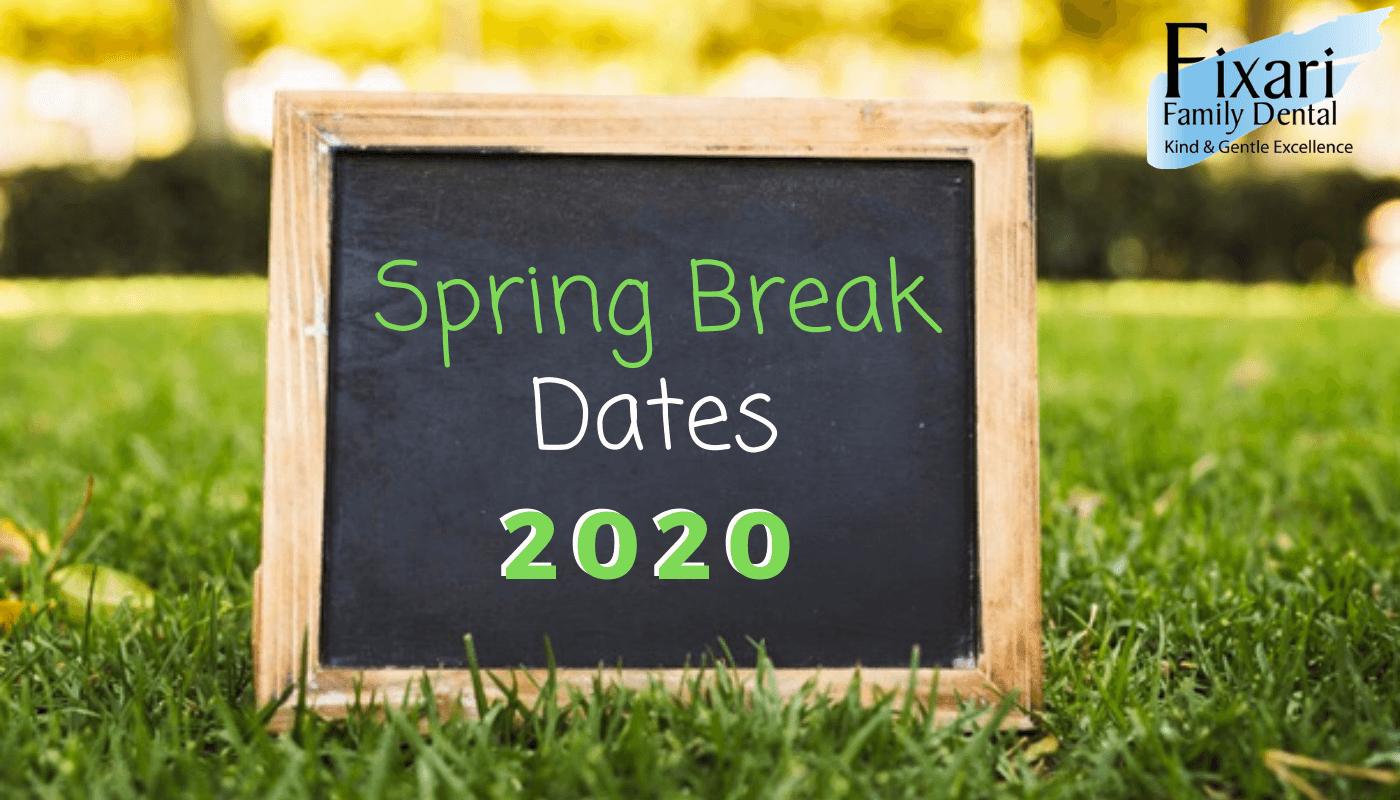 Spring Break Dates for Columbus Schools 2020
