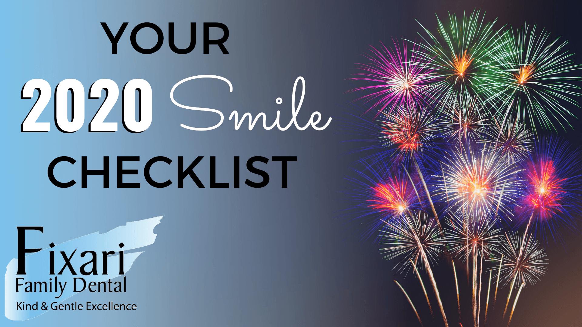 Your 2020 Smile Checklist