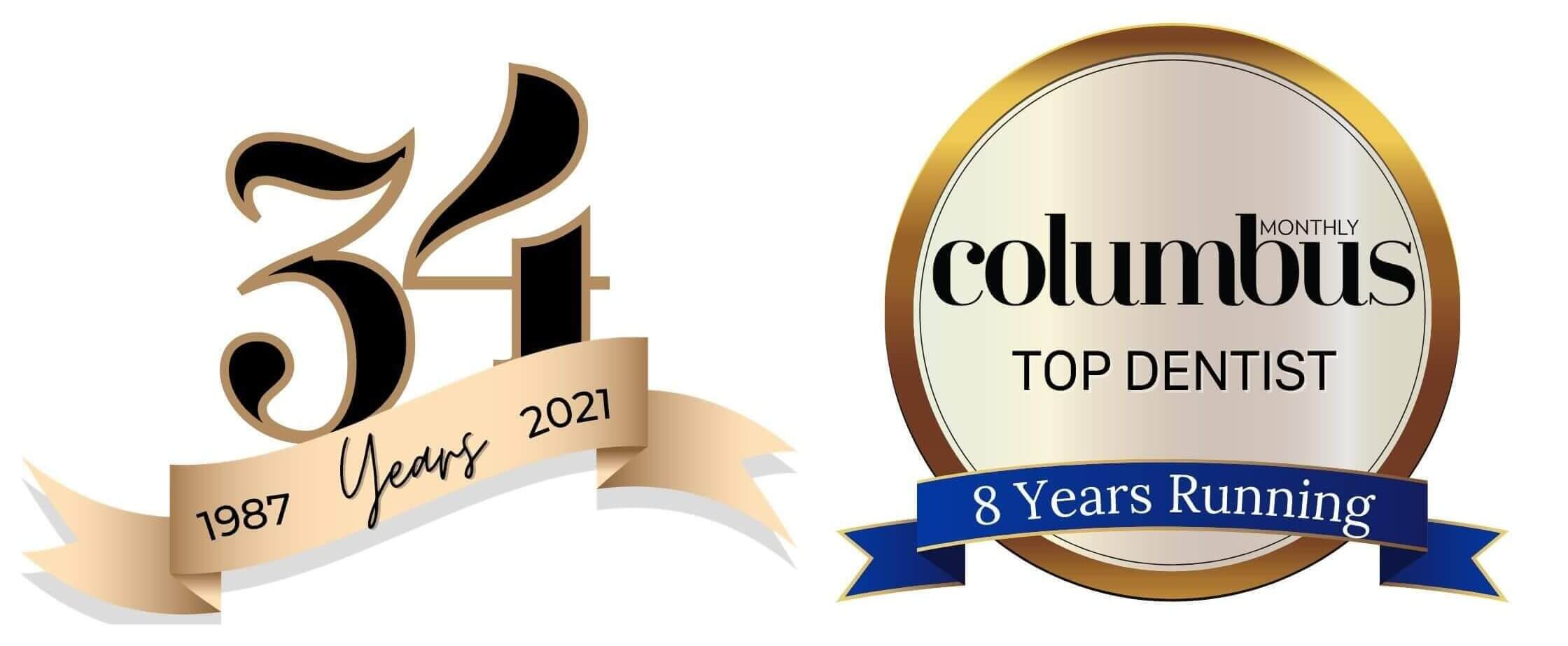 34 years of Columbus top dentist